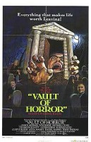 "Promotional poster for the 1973 film ""The Vault of Horror"""