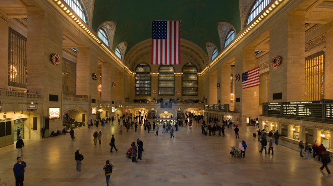 New York's Grand Central Terminal. Image via Wikipedia Commons