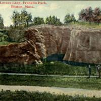 Lovers Leap, Franklin Park Boston, MA