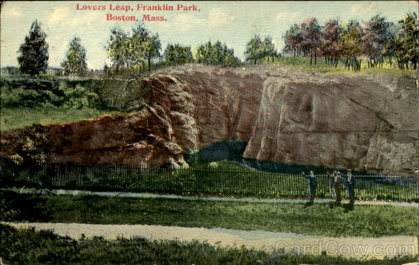 Lovers Leap, Franklin Park Boston, MA