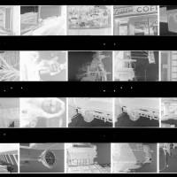 A random sheet of negatives from 1996
