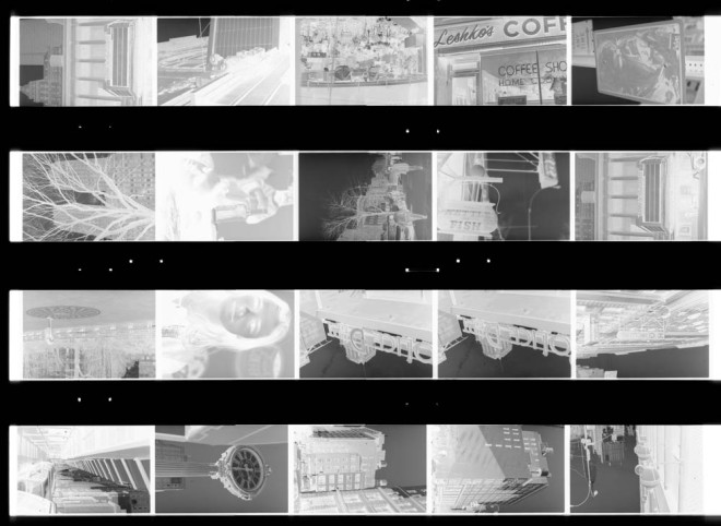 A random sheet of negatives from 1996
