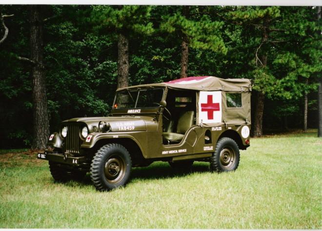 M170 Ambulance - Petit Jean, Ark 2005