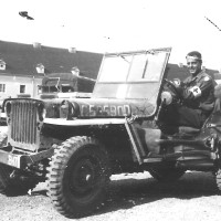 PFC Ernie Landwehr, Old B-17, The Army Jeep