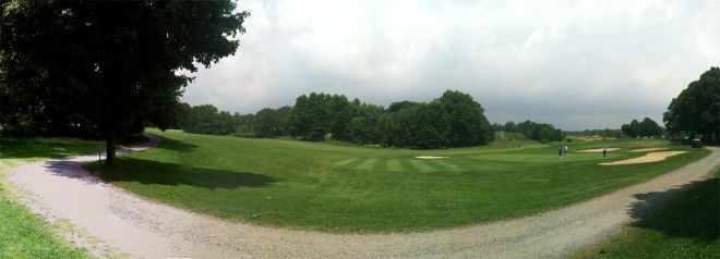 Scarboro-Pond-and-Bridge-across-Golf-Course-Panorama